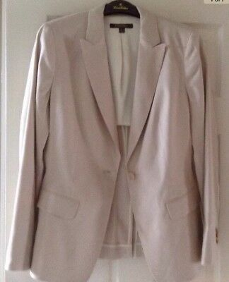 Brooks Brothers Ladies Beige Linen Jacket and Pants Size 8