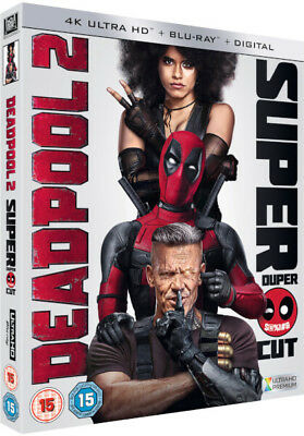 Deadpool 2 (2018) 4K Ultra HD UHD Blu-ray New Region Free A,B,C