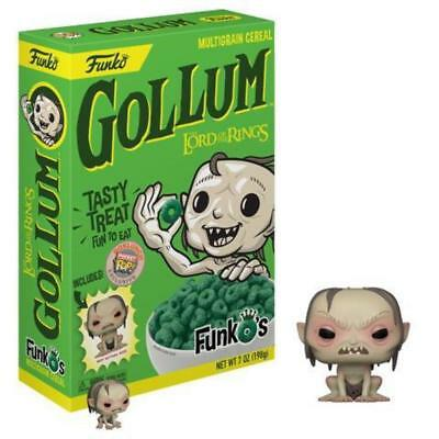 Funko Pop! Gollum FunkOs Cereal w/Pocket Pop (Lord of the Rings) - Box Lunch Exc