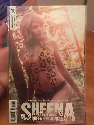 SHEENA QUEEN OF THE JUNGLE 10 Cosplay Variant Cover D Bennett Trujillo Dynamite