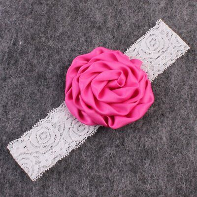 Baby Headband Headband Newborn Toddler Flower Girl Lace Christening Hair Band