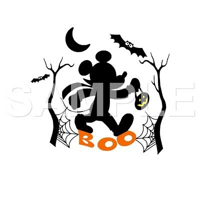 disney halloween personalized vinyl iron on transfer choice of 1