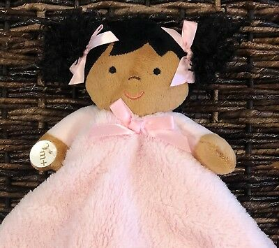 Blankets and Beyond Baby Doll Girl Soft Security Blanket Lovey