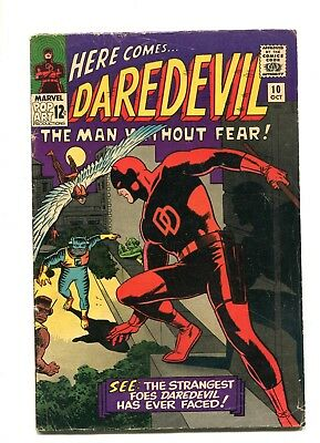 DAREDEVIL #10 Comic Book  Wally Wood Art 1st ANI-MEN 1965