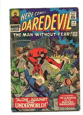 DAREDEVIL #19 (2nd app. Gladiator) MARVEL SILVER AGE