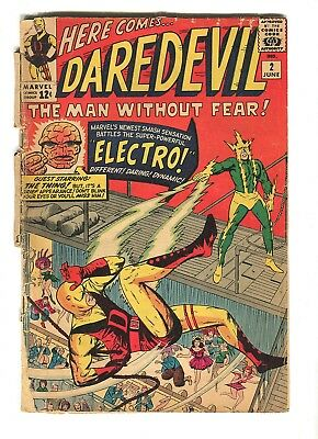 Daredevil #2 (June 1964, Marvel)  * 2nd Appearance of Daredevil & Electro