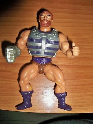 HE MAN Masters of the Universe MOTU Action Figure Fisto Mattel Vintage