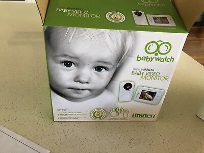 Uniden BW 2101Digital Wireless Baby Video Monitor System
