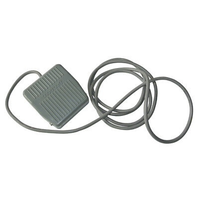 NEW Foot Pedal Swith For TFS-201 AC 250V 10A W/ Wire Gray Plastic Case