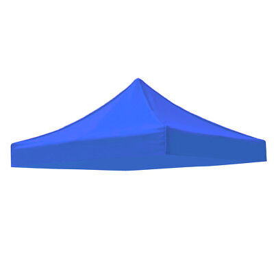 Garden Gazebo Top Cover Replacement Outdoor Camping Tent Canopy Blue 2x2m