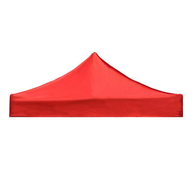 Garden Gazebo Top Cover Replacement Outdoor Camping Tent Canopy Red 3x3m