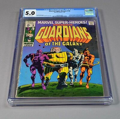 Marvel Super-Heroes Guardians of the Galaxy # 18 CGC slabbed/graded 5.0 VG/F!