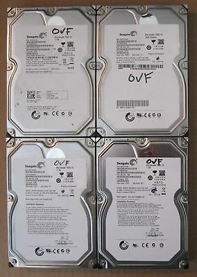 "Lot of 4 Seagate SATA 3.5"" 1TB Internal Desktop Hard Drive"