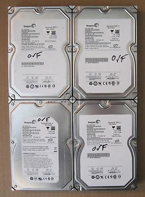 "Lot of 4 Seagate SATA 3.5"" 500GB Internal Desktop Hard Drive"