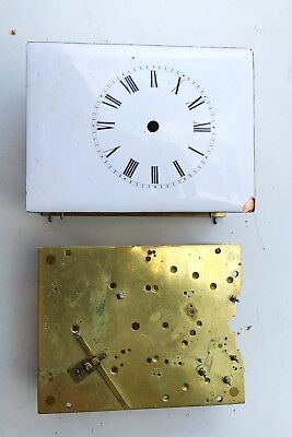 Two Carriage Clock Part Movements One Moser Of Parris