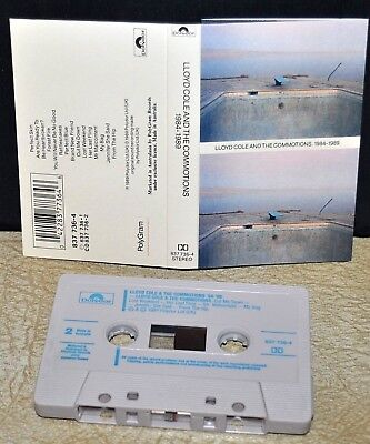 LLOYD COLE & THE COMMOTIONS     - 1984-1989  -                     Cassette Tape
