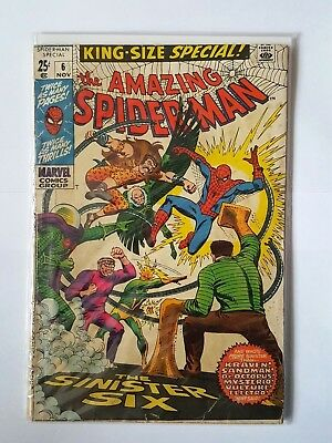 Amazing Spiderman king size  #6 Silver age