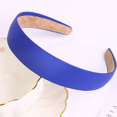 Plain Colors Hair Band Solid Wide Headband Woman Ladies Hair Band Chic Gifts N7