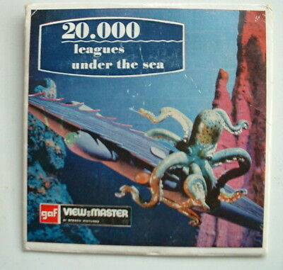 Viewmaster Vintage Slides `20000 Leagues Under The Sea`  B370