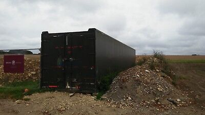 40 ft insulated shipping container
