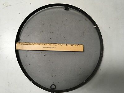 "Vintage US Navy 16"" insect screen for a porthole non magnetic USS battleship"