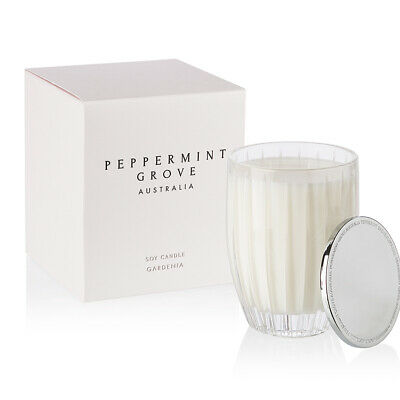 NEW Peppermint Grove Gardenia Candle Large 350g