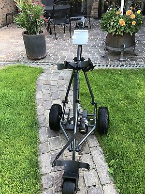Golf Elektrotrolley STAR LINE. POWAKADDY.     mit Batterie Mit Stecker Und Adapt