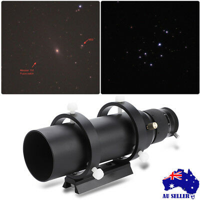50mm Imaging Guide Scope Finderscope with Bracket Set For Astronmical Telescope
