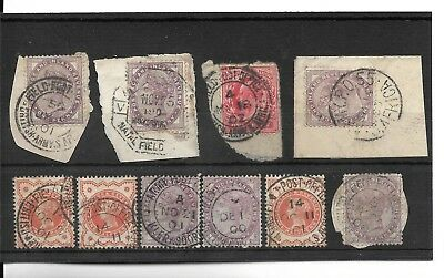 British South Africa 1900-02 Selection Of Field Post Office Cancels.   (444)
