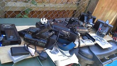 A Job Lot Of Video Cameras And Others.
