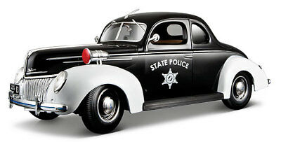 1939 Ford Deluxe V8 Flat Head Police Car Nib