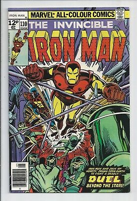 Iron Man #110 : Fine/Very Fine 7.0 : First Print : Jack of Hearts