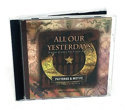 All Our Yesterdays - PATTERNS & MOTIFS - Stock Photography (Historic Images, V9)