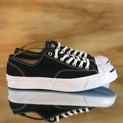 f0b1d24a7d85bd Converse Jack Purcell Signature Ox Black White Low Top Sneaker  147560C   Size 11