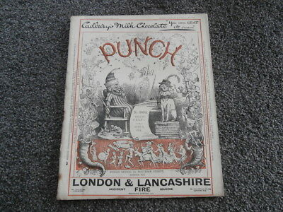Punch magazine. June 3rd 1914. No. 3804.