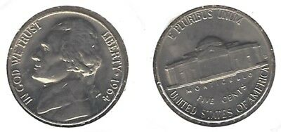 USA 1964-D  UNC Jefferson Nickel.....Nice Coin !!!
