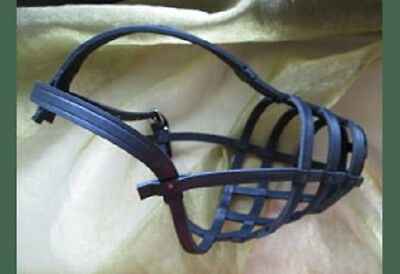 Stafford Leather Muzzle