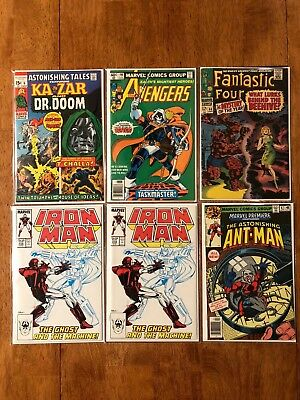 Lot Of Key Marvel Comics!  21 Total: Most Are High Grade!  Silver / Bronze!