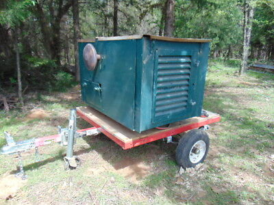 Kohler 7Kw Generator Gas Natural Gas 120 / 240 volt Trailer Hunting Lease