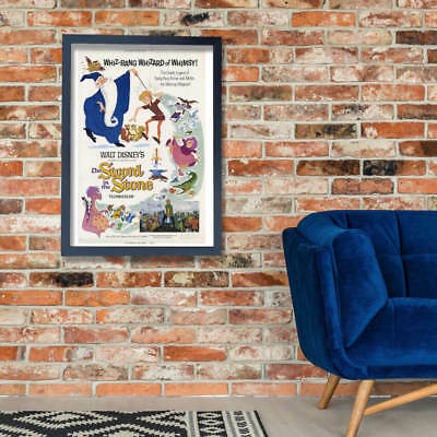 Walt Disney The Sword In The Stone Film Wall Art Poster Print