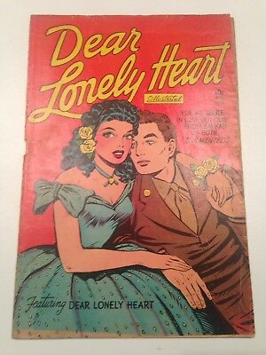 Dear Lonely Heart #2 - Ultra Scarce Feldstein Baker Kamen Art?  GGA Bright Cover