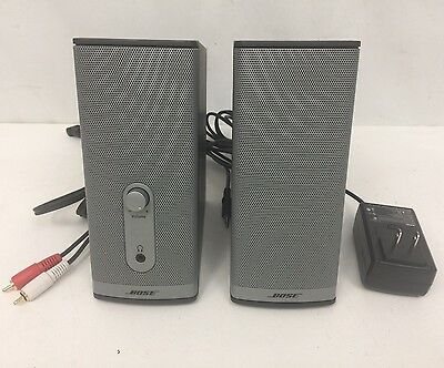 Bose Companion 2 Series II Multimedia Speaker System Complete In EUC