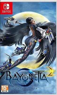 NEW Bayonetta 2 (English / Japanese Ver. ) for Nintendo Switch NS Factory Sealed