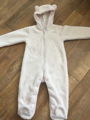 White Company Fleece Romper 12-18 Months