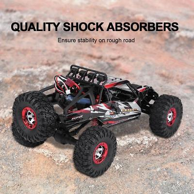 FY07 4WD RC Monster Truck Off-Road Vehicle 2.4G Remote Control Buggy Crawler Car