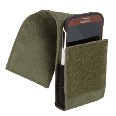 Voodoo Tactical 20-1220004000 Small OD Green Cell Phone Pouch w/MOLLE Straps