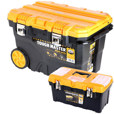 Tool Chest Tough Master Professional Mobile 28'' on Wheels With 19'' Tool Box