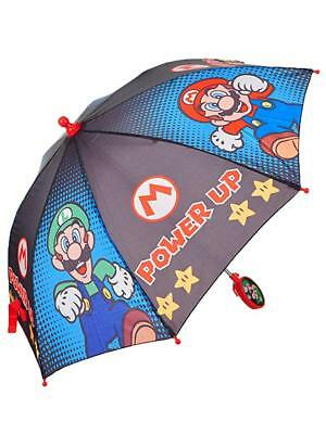 Super Mario Stick Umbrella Boys, One Size