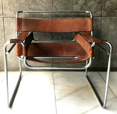 Wassily Chair. After Marcel Breuer. Germany. Circa 1970.