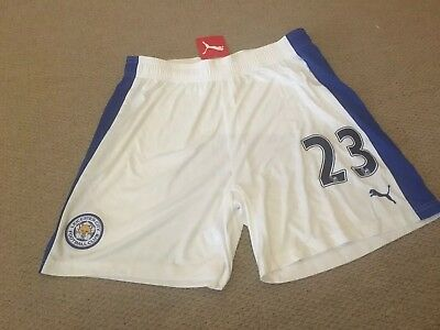 LEICESTER FC Football Shorts BNWT Size L